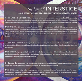 Tool: Law of Interstice